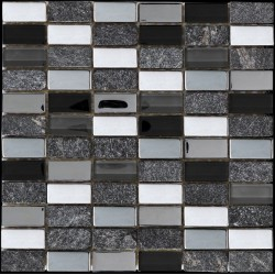 Myka Black Mosaics SAMPLE - free