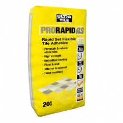 Pro Rapid RS: Rapid Set Flexible Tile Adhesive 20kg