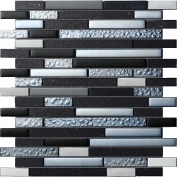 Quartz Black Mosaics SAMPLE - free