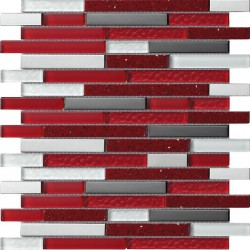 Quartz Red Mosaics SAMPLE - free