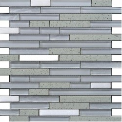 Quartz White Mosaics SAMPLE - free